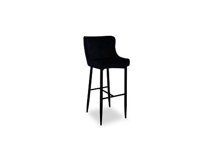 Barová stolička: SIGNAL COLIN B VELVET H-1