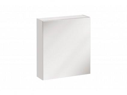 151041 8 moderna biela zrkadlova skrinka do kupelne twist wh