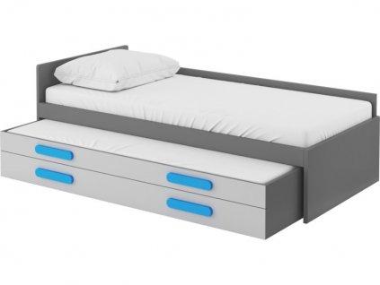 dvouluzkova postel play s matracemi