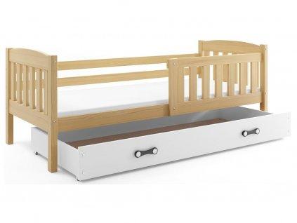 168330 7 detska postel kubus borovica 1