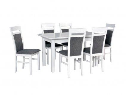 150024 moderny biely jedalensky set wenus 2 s milano 6 1 6