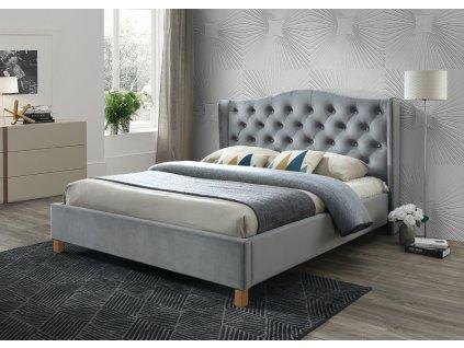 Manželská posteľ Aspen Velvet