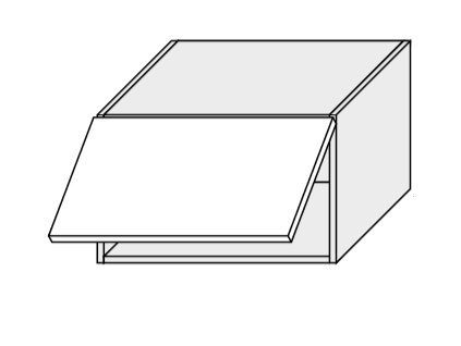 Kuchynská skrinka horná, W4B/60 Essen (Farba korpusu BIELA)