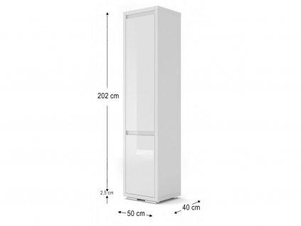 151008 moderna biela policova skrina nordic bianco 04 biely elsk