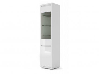 151023 moderna biela leskla vitrina nordic bianco 06