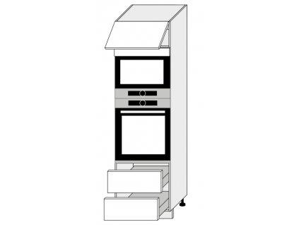 Kuchynská skrinka vysoká, D14/RU/2M 284 Amaro