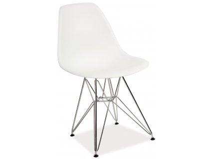 Jedálenská stolička LINO (Farba Biela)