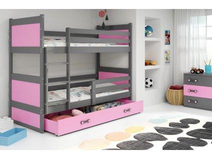 Detská poschodová posteľ RICO, 200
