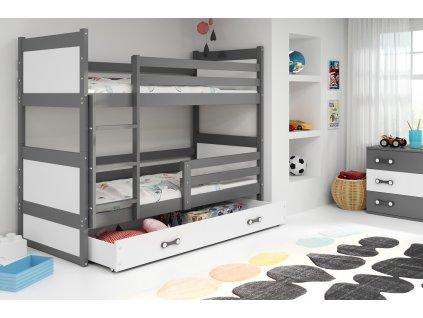 Detská poschodová posteľ RICO, 160