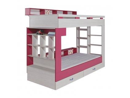 Poschodová posteľ Komi KM14