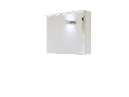 Skrinka závesná zrkadlová Galaxy 80, biela 844