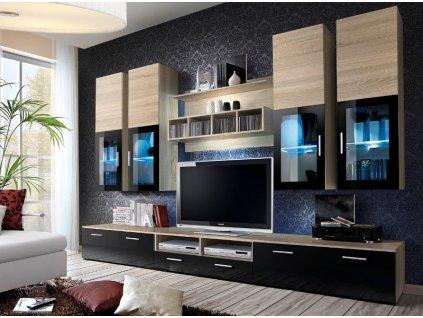 Obývacia stena LYRA - Nábytok do obývačky > Obývacie steny