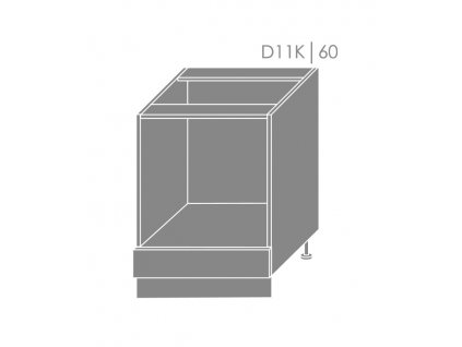 Spodná kuchynská skrinka Florence D11K/60