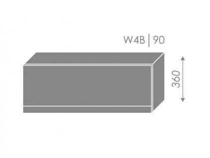 Vrchná kuchynská skrinka Florence W4B/90