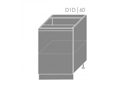 Spodná kuchynská skrinka Florence D1D/60
