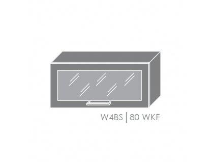 Vrchná kuchynská skrinka Brerra W4BS/80 WKF
