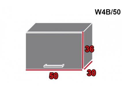 Vrchná kuchynská skrinka Pescara W4B/50
