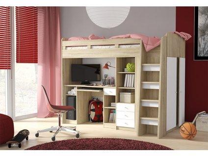 Detská poschodová posteľ UNIT