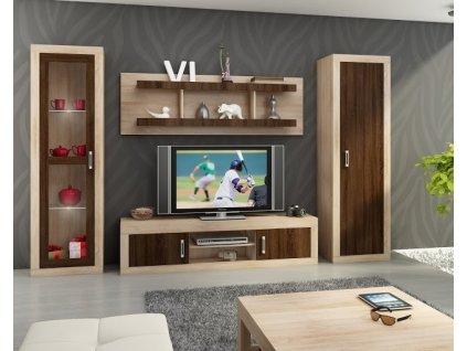 Obývacia stena Verin 4 WIP