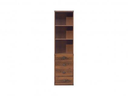 Regál Indiana JREG 4SO/50 - Nábytok do kancelárie > Regále a knižnice