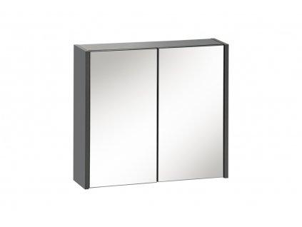 Skrinka Ibiza zrkadlova antracit 1