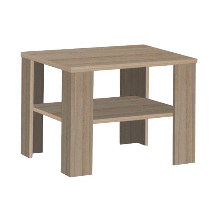 Tempo Kondela Konferenčný stolík, malý, dub sonoma tmavý truflový, INTERSYS 21