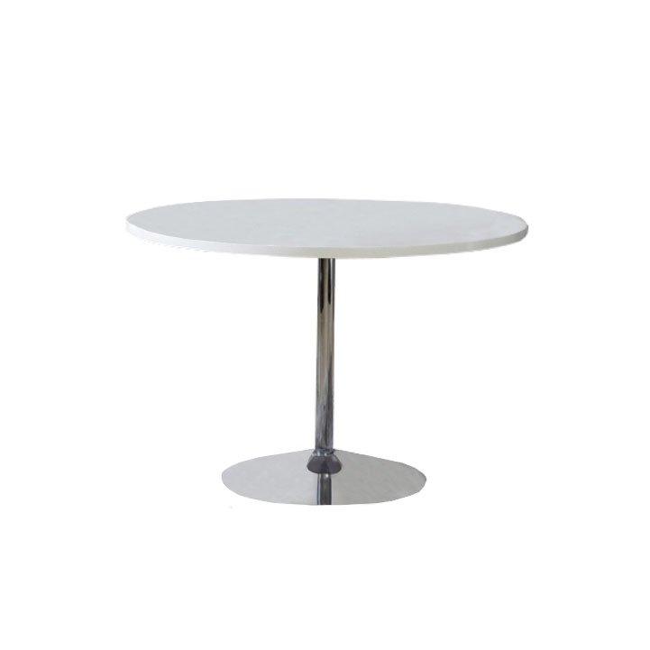 Tempo Kondela Jedálenský stôl, biela, extra vysoký lesk, PAULIN