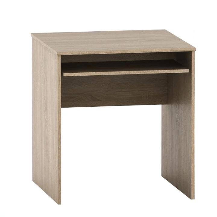 Tempo Kondela Stôl písací s výsuvom, dub sonoma, TEMPO ASISTENT NEW 023