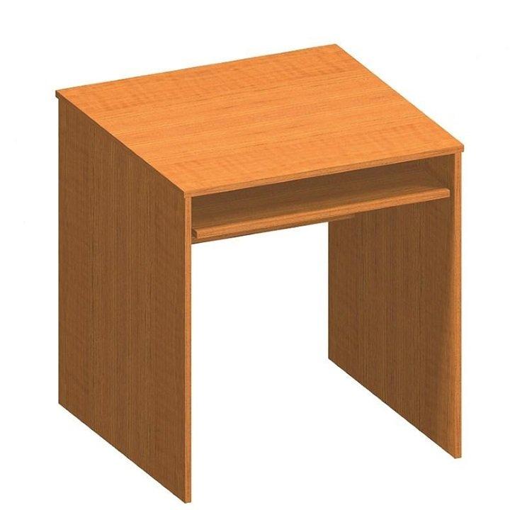 Tempo Kondela Stôl písací s výsuvom, čerešňa, TEMPO ASISTENT NEW 023