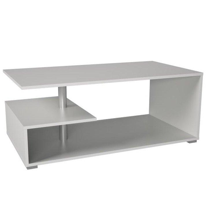 Tempo Kondela Konferenčný stolík, biela, DORISA