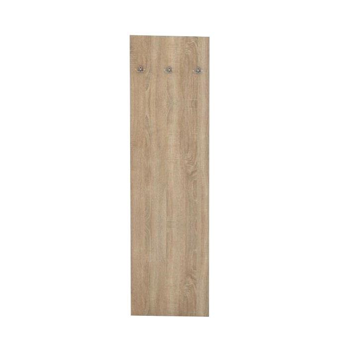Tempo Kondela Panel vešiakový, dub sonoma, TEMPO ASISTENT NEW 030