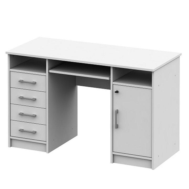 Tempo Kondela PC stolík ,biela, B9 NEW