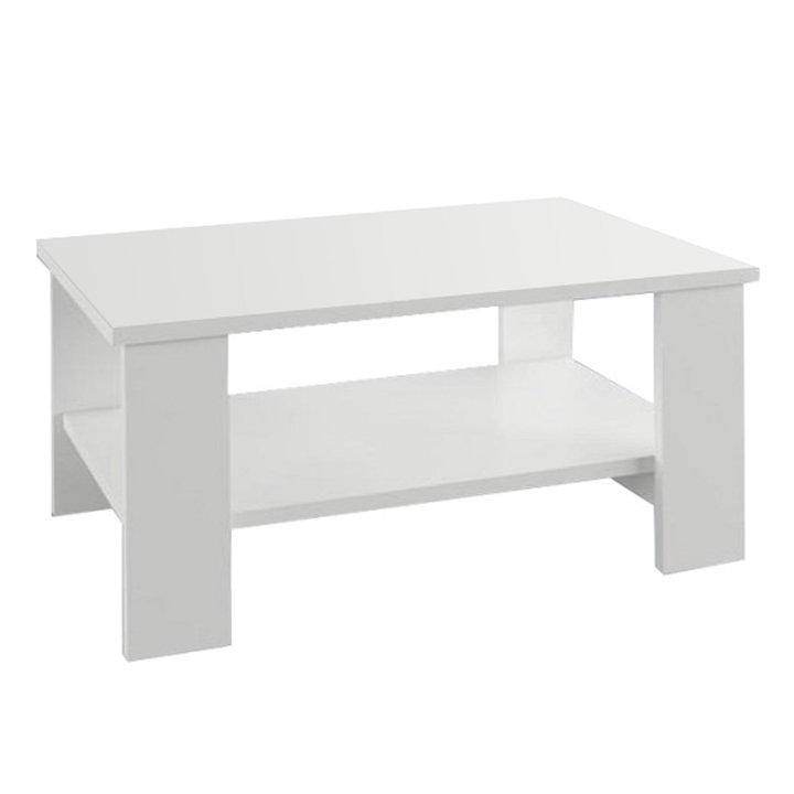Tempo Kondela Konferenčný stolík, biela, BERNARDO