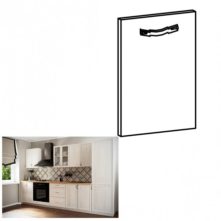 Tempo Kondela Dvierka na vstavanú umývačku riadu, 59,6x57, sosna Andersen, SICILIA