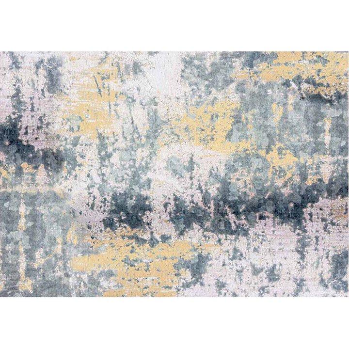Tempo Kondela Koberec, sivá/žltá, 160x230, MARION TYP 1