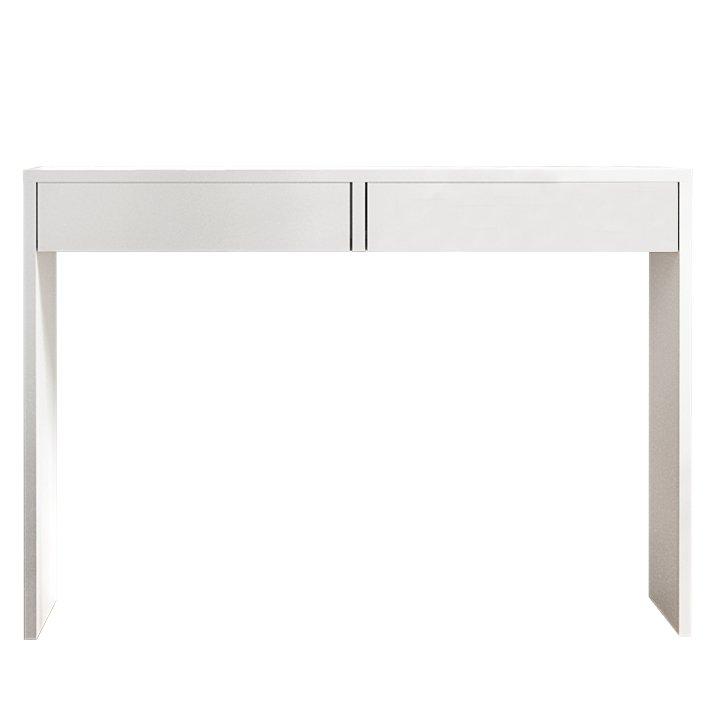 Tempo Kondela Toaletný stolík/písací stôl, biela, VIOLET