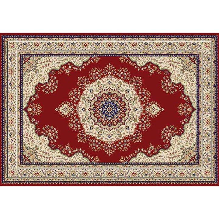 Tempo Kondela Koberec, vínovočervená/mix farieb/vzor, 160x235, KENDRA TYP 3