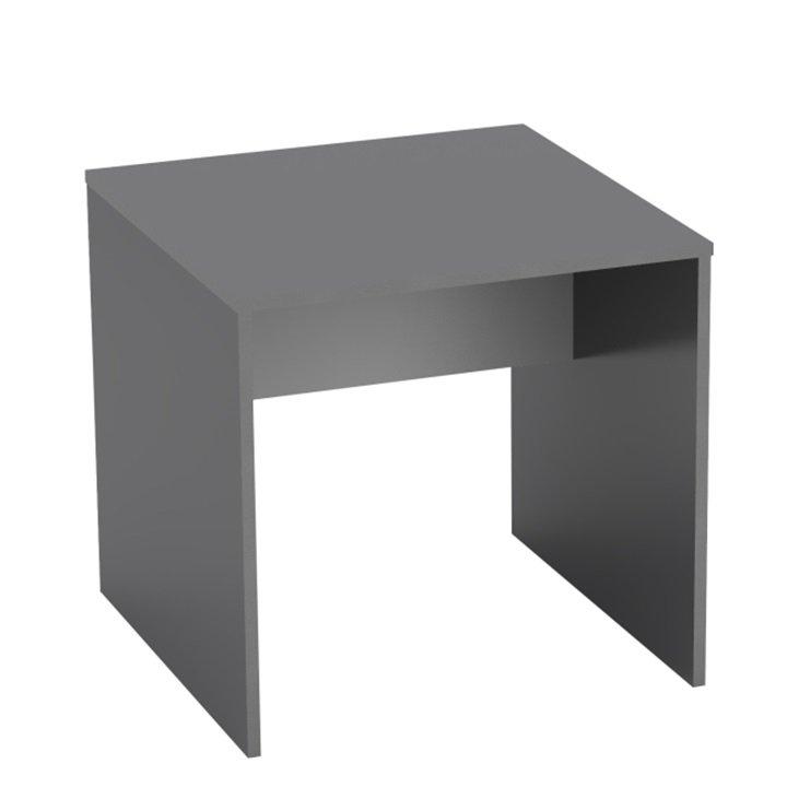 Tempo Kondela Písací stôl, grafit/biela, RIOMA TYP 17