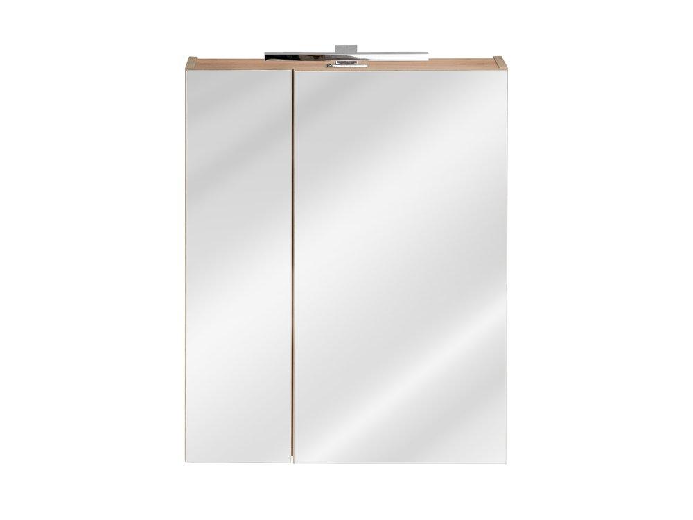COM Horná zrkadlová skrinka CAPRI / dub zlatý 842