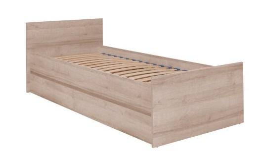 Maridex Jednolôžková posteľ COSMO C08 FARBA: Dub sonoma