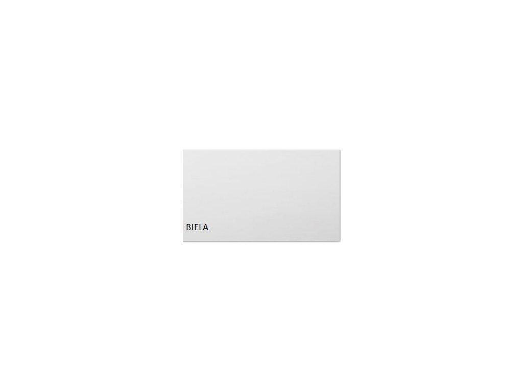 DREWMIX Jedálenský set - stôl MODENA I / stoličky NILO III (1+6) Drevo: Biela