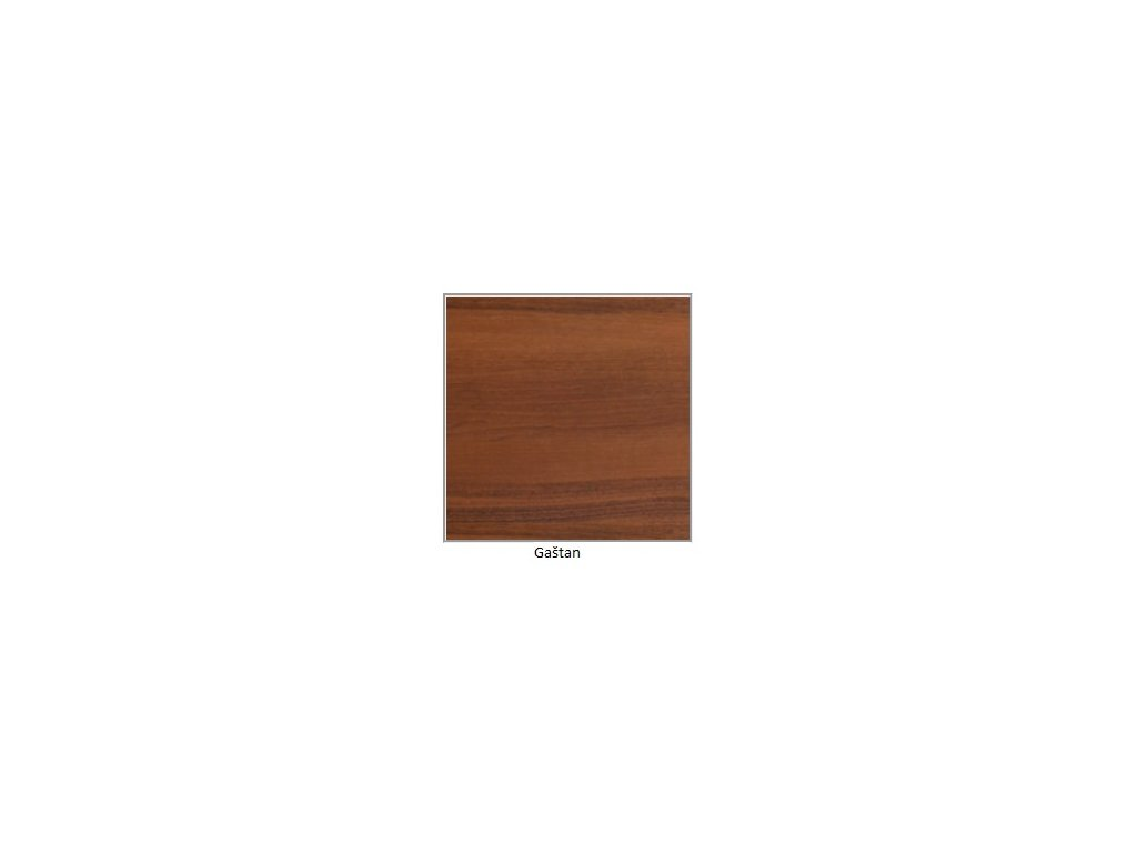 DREWMIX Jedálenský set - stôl WENUS V / stoličky NILO IV (1+6) Drevo: Gaštan
