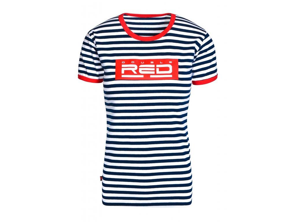 Dámské tričko DOUBLE RED NAUTICAL