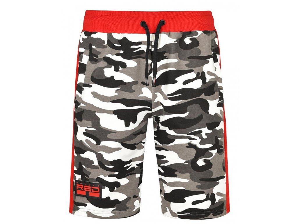 Pánské kraťasy UTTER Shorts B&W Camo obr1