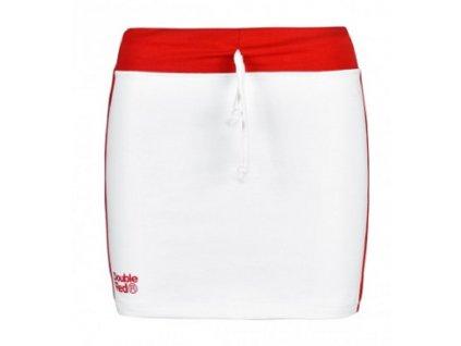 Double Red dámská sukně Fabulous RedSkirt White obr1