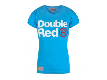 Double Red Trademark T-Shirt Blue obr1