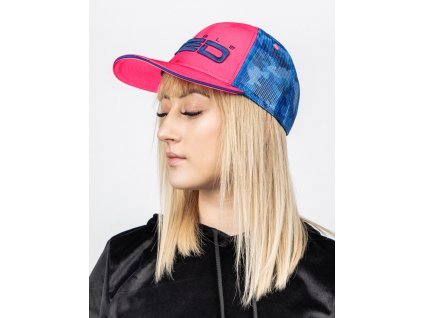Kšiltovka DOUBLE RED NEON STREETS COLLECTION Cap Pink