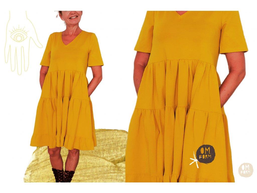 Šaty WILD GOLD