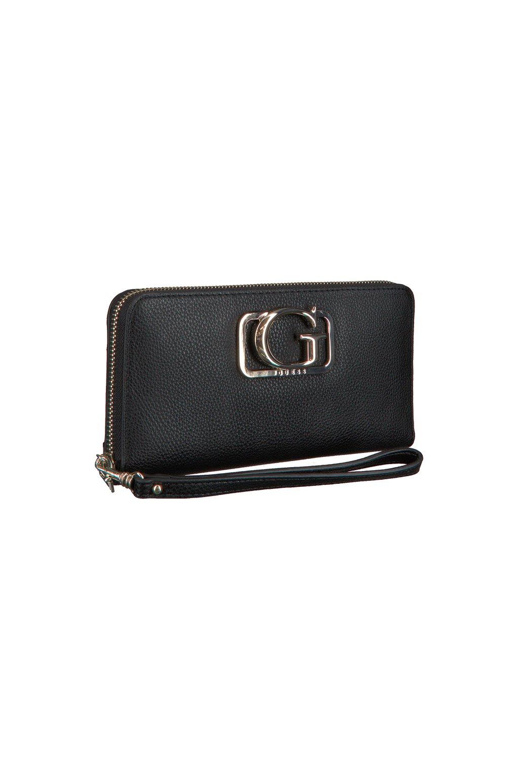 GUESS peněženka  ANNARITA SLG BLACK