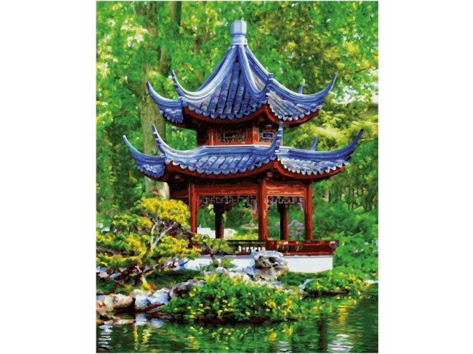 vyr 408Pagoda v japonskej zahrade
